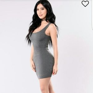 One of the Boys Ribbed Dress Mini